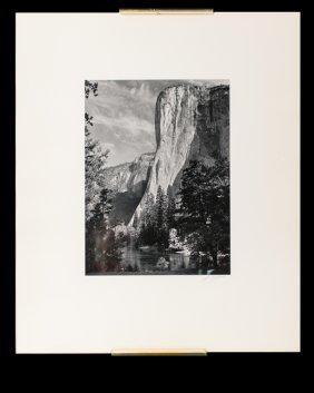 Ansel Adams El Capitan, Yosemite Valley Print 115