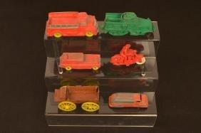 Vintage Auburn Rubber & Tootsie Children's Toys