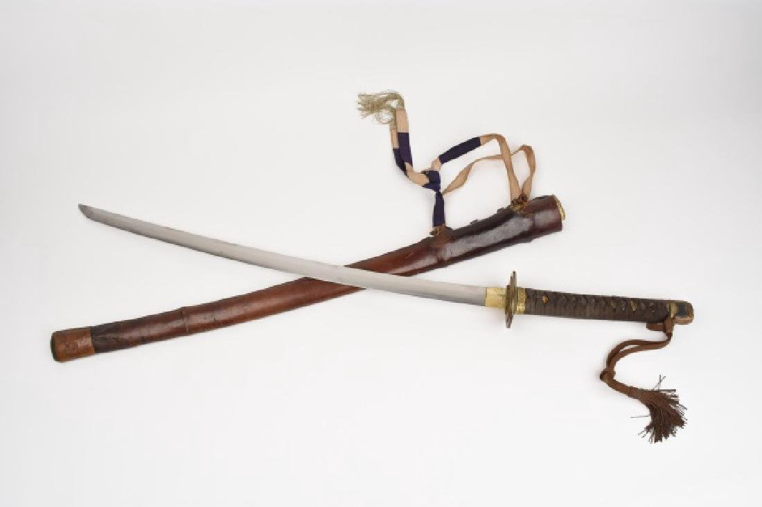 WWII Japanese Imperial Army Samurai Sword