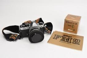 Nikon FM2 35mm Camera & 50mm/ f/1.8 Lens