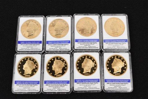 Carson City Gold Double Eagle Replicas