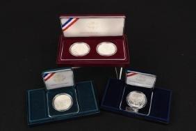 Commemorative, Silver Proof & 1886 Morgan Dollar
