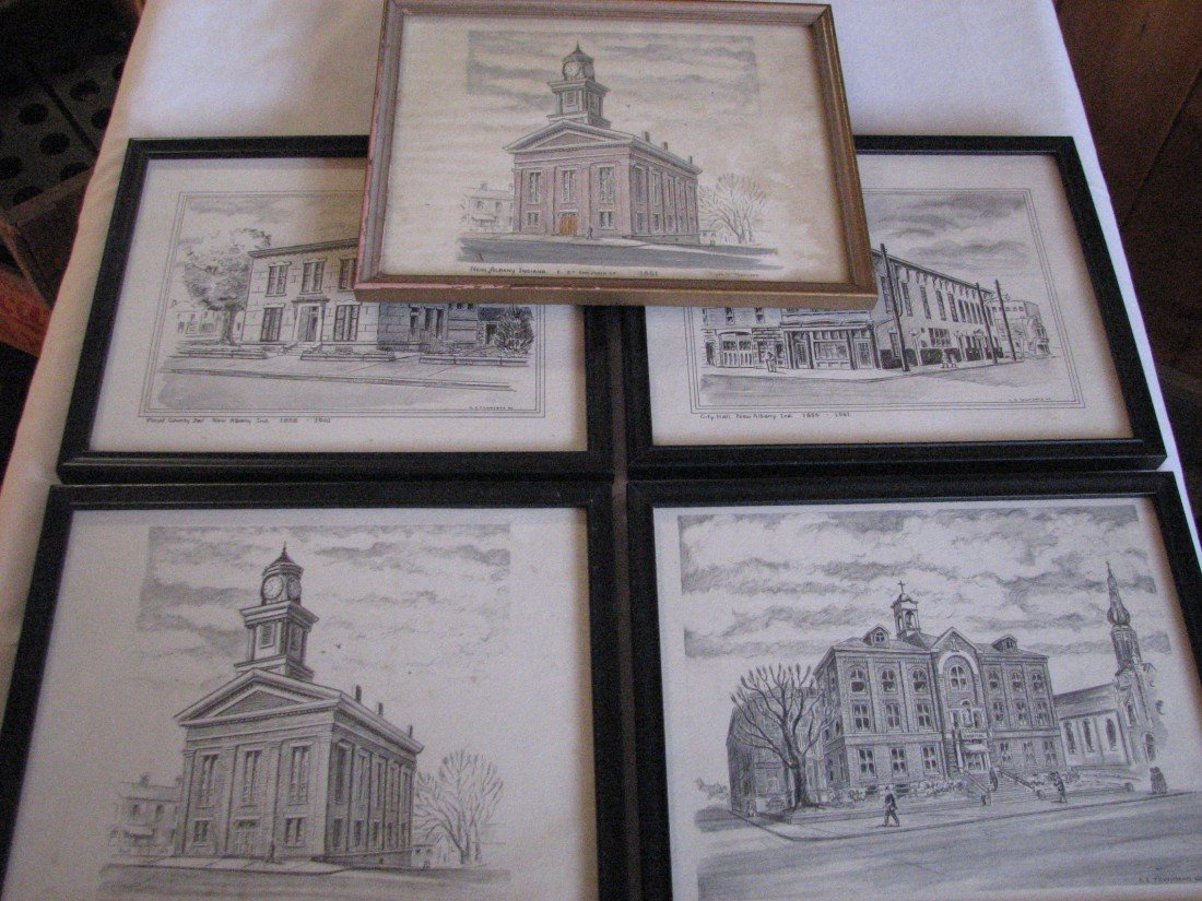1: New Albany Townsend Drawings