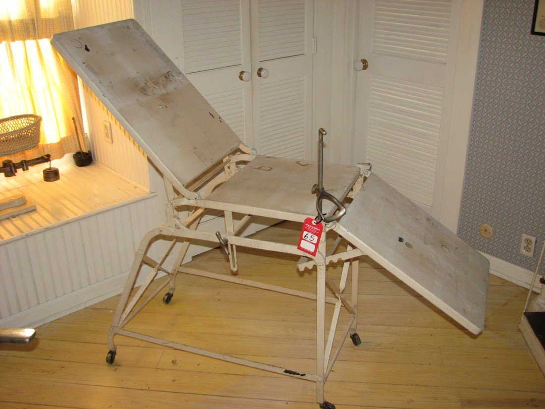 65: Vintage Medical Exam Table