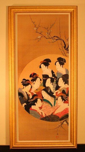 3: framed 9 gisha woman