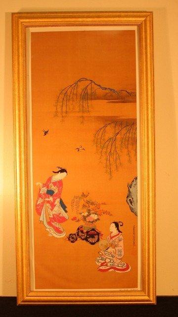 4: framed 2 geisha woman