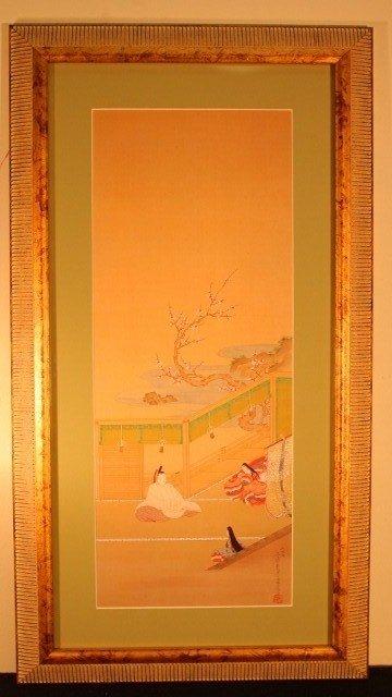 24: framed 3 japanese sitting