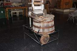 Early 1900s Antique Washing Machine