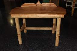 Decorative Pine Table