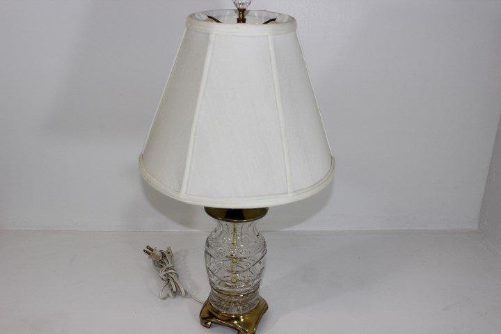 Violetta Cut Crystal Boudoir Lamp