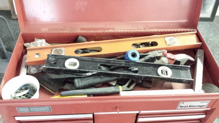Craftsman 15 drawer tool box with tools - 3