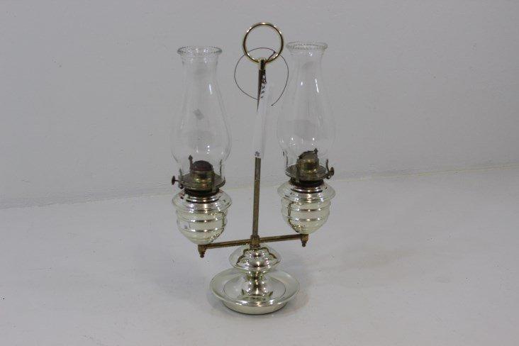 Double Kerosene Lamp