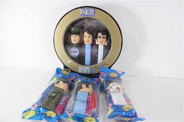 Elvis Pez  Dispensers Collectibles