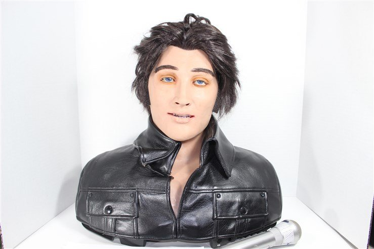 Elvis WowWee Alive Talking and Moving Bust