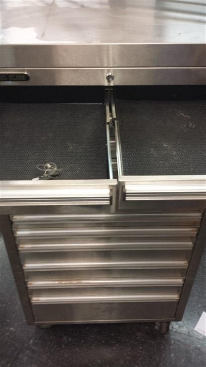 Steel Glide Double Stack Rooling Tool Box - 2