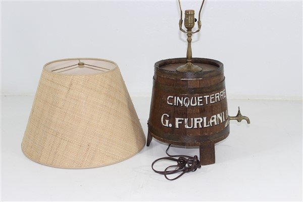 Italian Wine Keg Lamp - 2