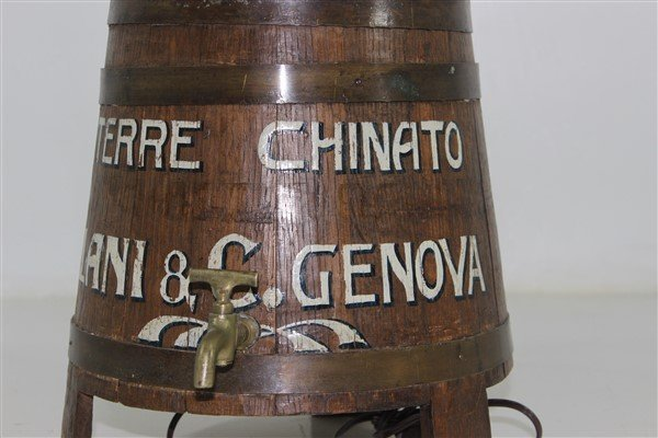 Italian Wine Keg Lamp - 4