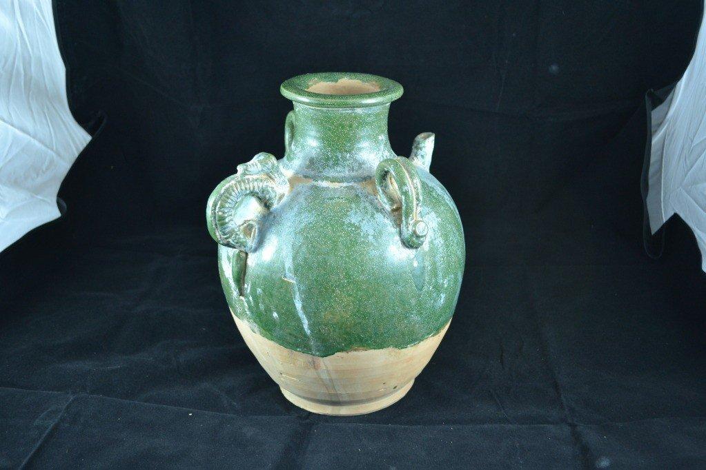 107: ceramic water jar