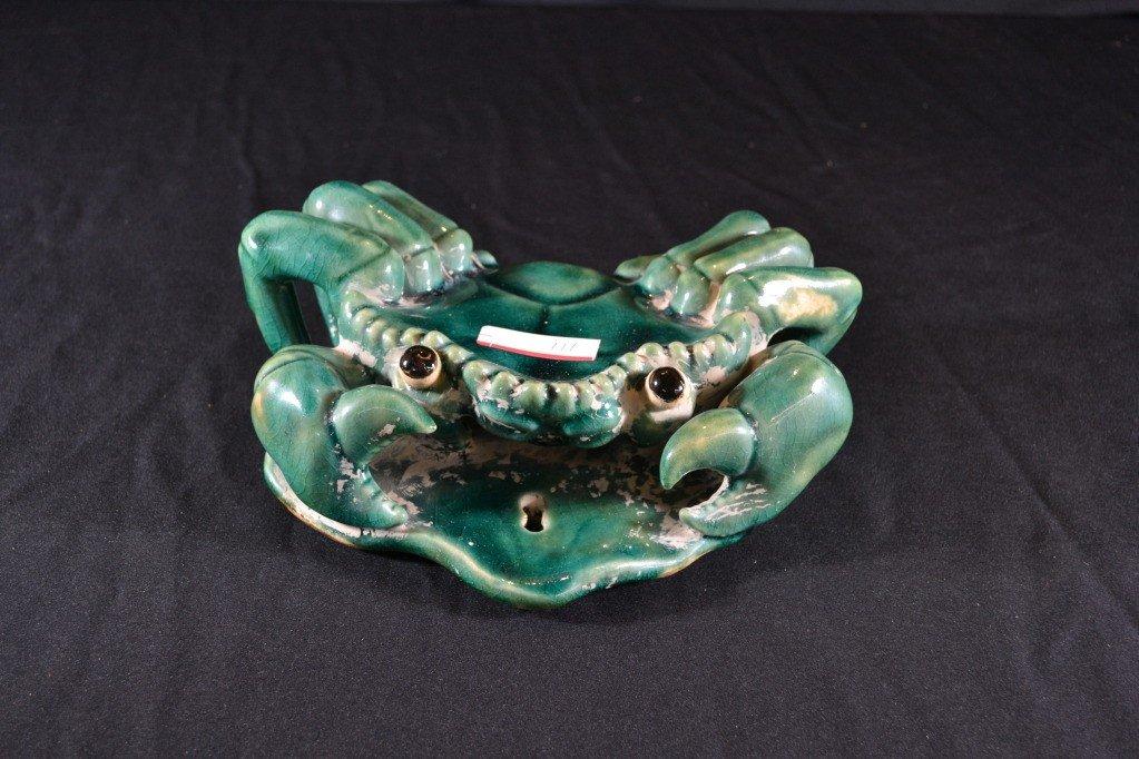 111: ceramic crab