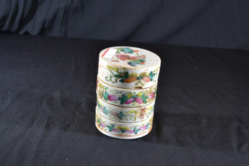112: chinese 4 tier jar