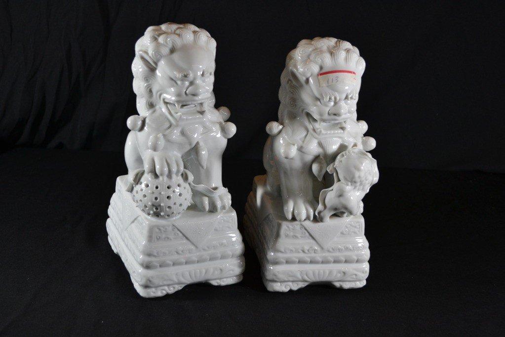 113: pair of foo lions