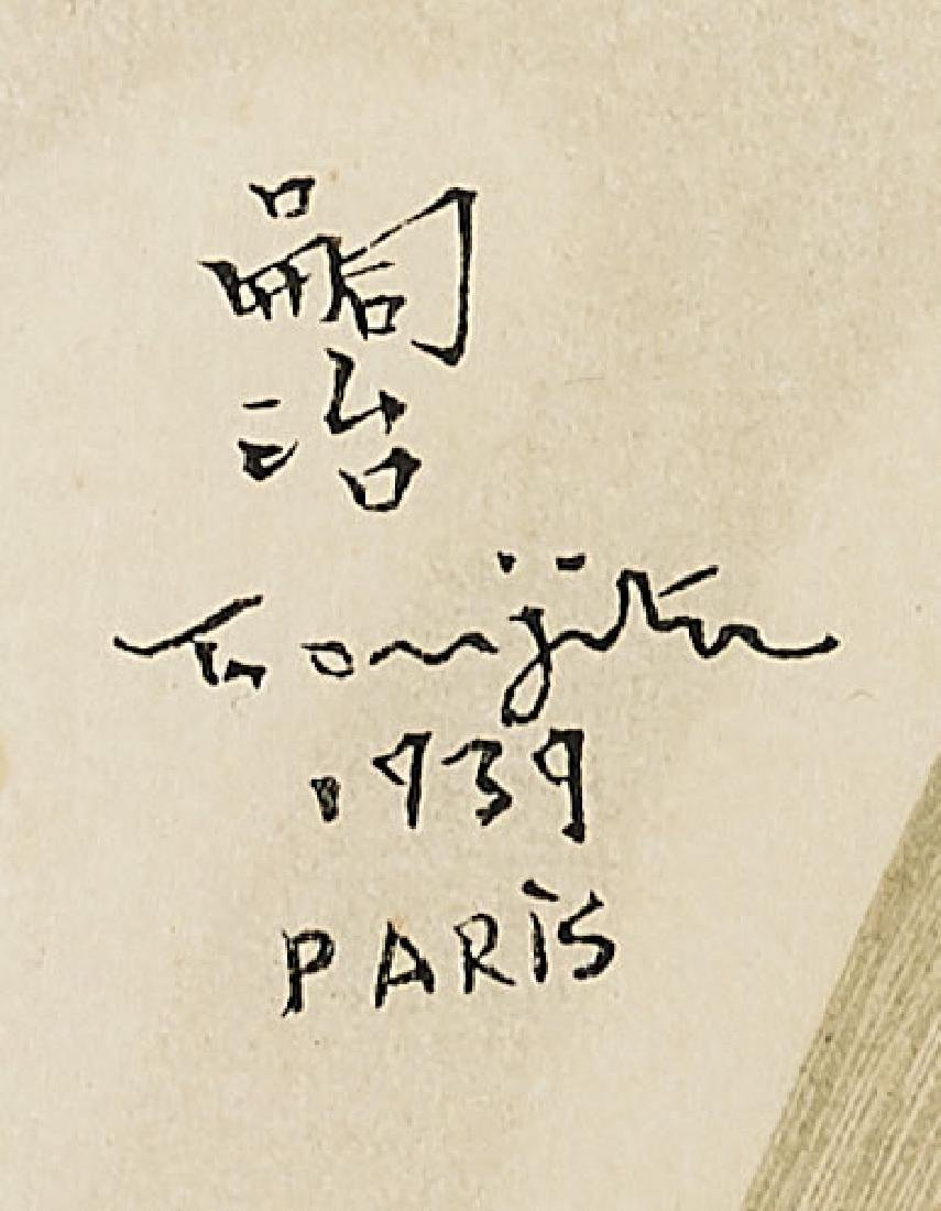 WOODBLOCK PRINT BY L. TSUGUHARU FOUJITA - 2