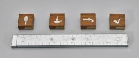 MID-CENTURY DUNHILL LIGHTER & DANSK MATCHBOXES