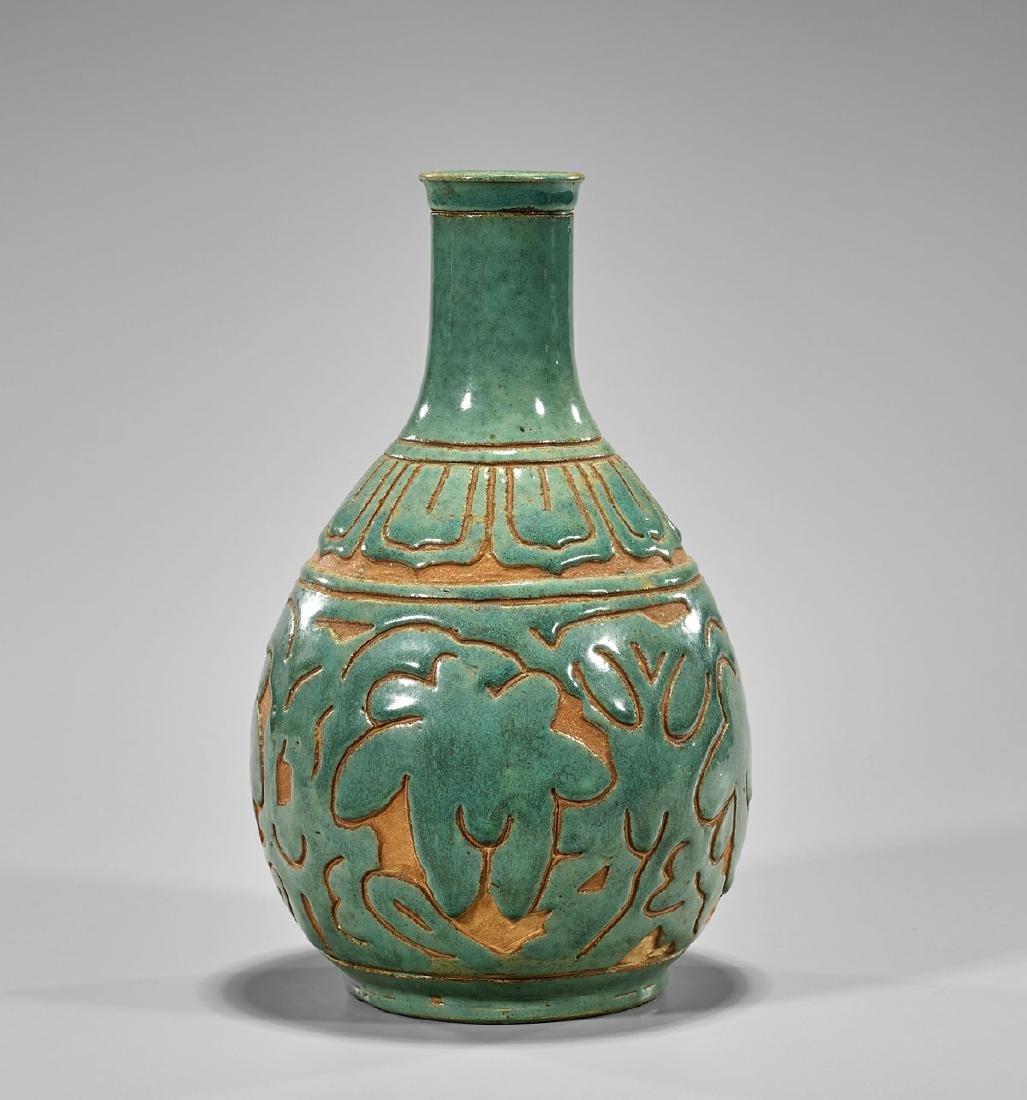 Chinese Celadon Glazed Vase