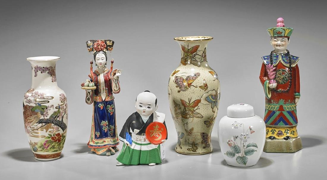 Six Various Chinese & Japanese Porcelains