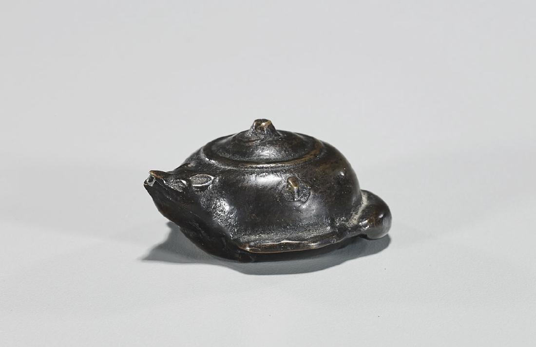 Antique Chinese Bronze Waterdropper