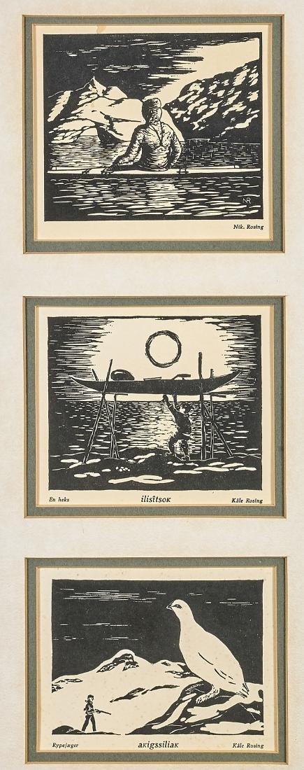 Four Various American & European Prints - 5