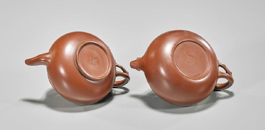 Two Yixing Pottery Teapots - 2