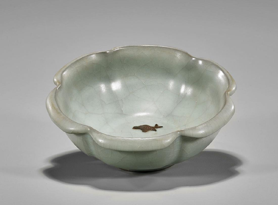 Chinese Celadon Glazed Ceramic Bowl