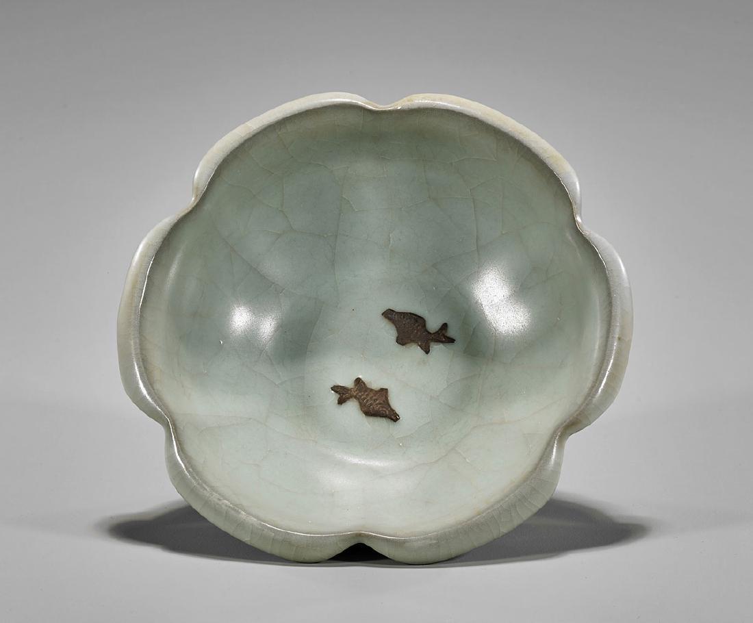 Chinese Celadon Glazed Ceramic Bowl - 2