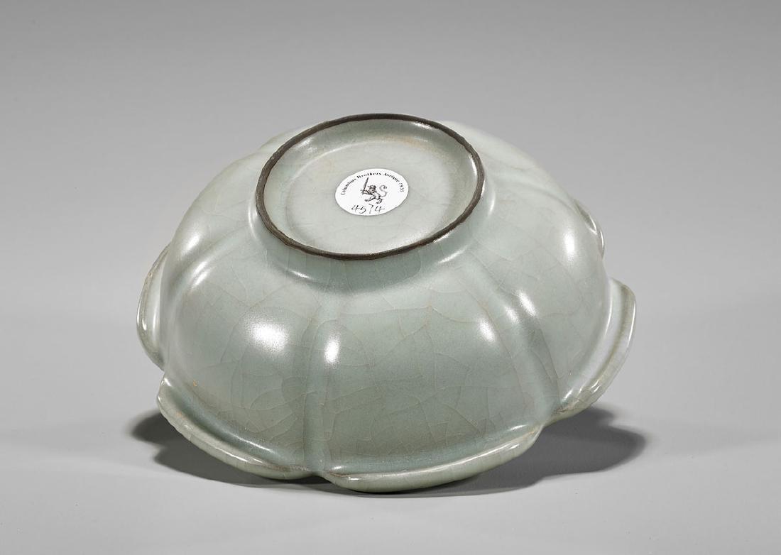 Chinese Celadon Glazed Ceramic Bowl - 3