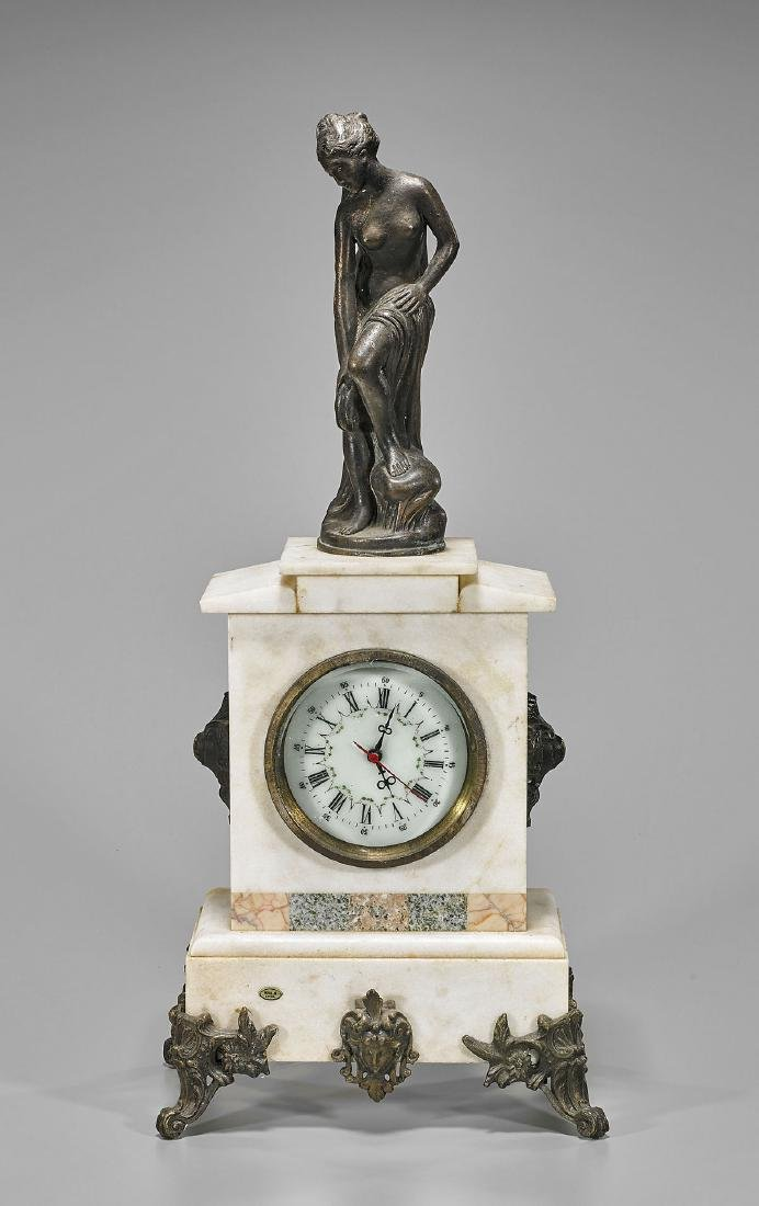 European-Style Chinese Desk Clock