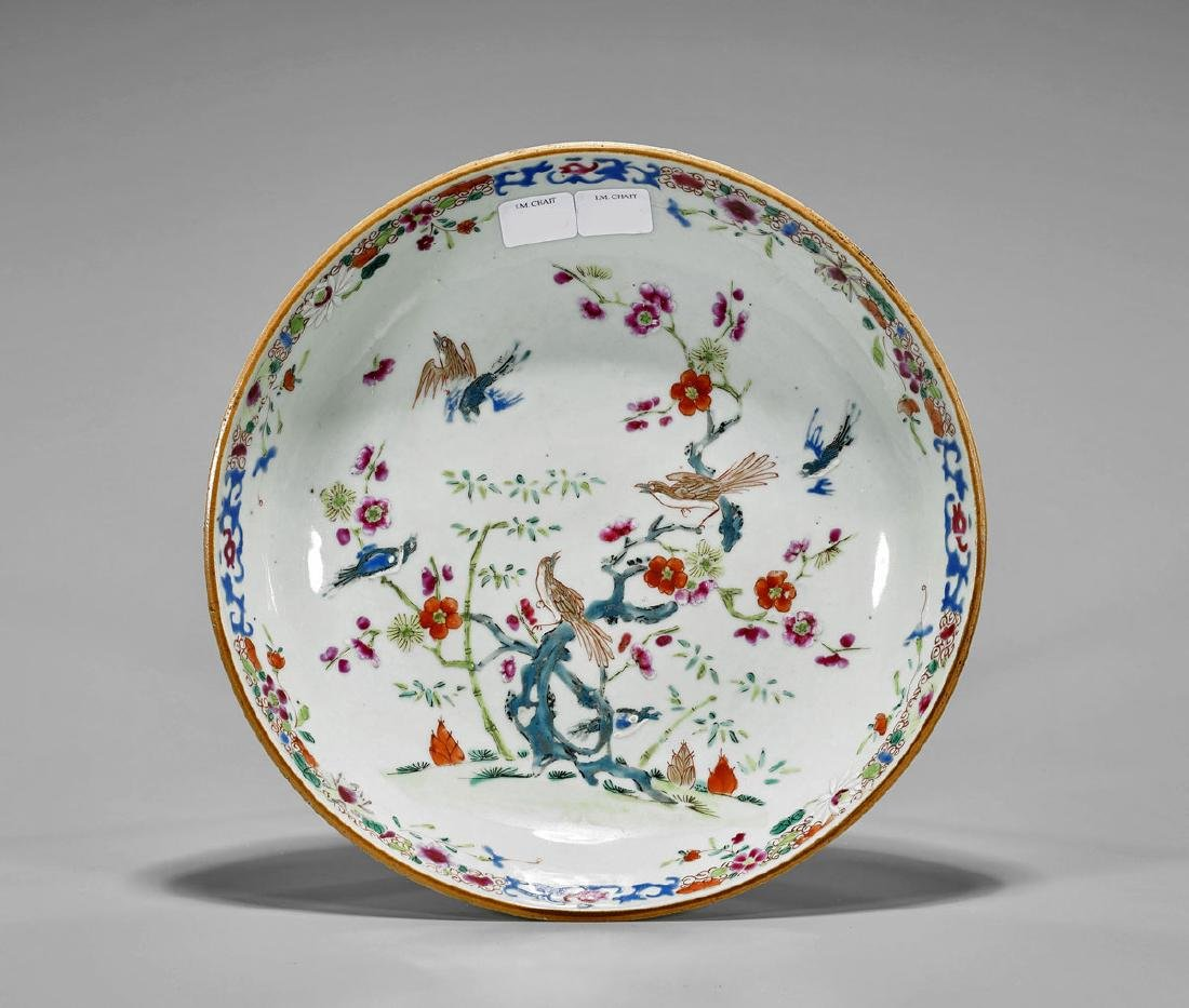 Antique Chinese Export Porcelain Dish