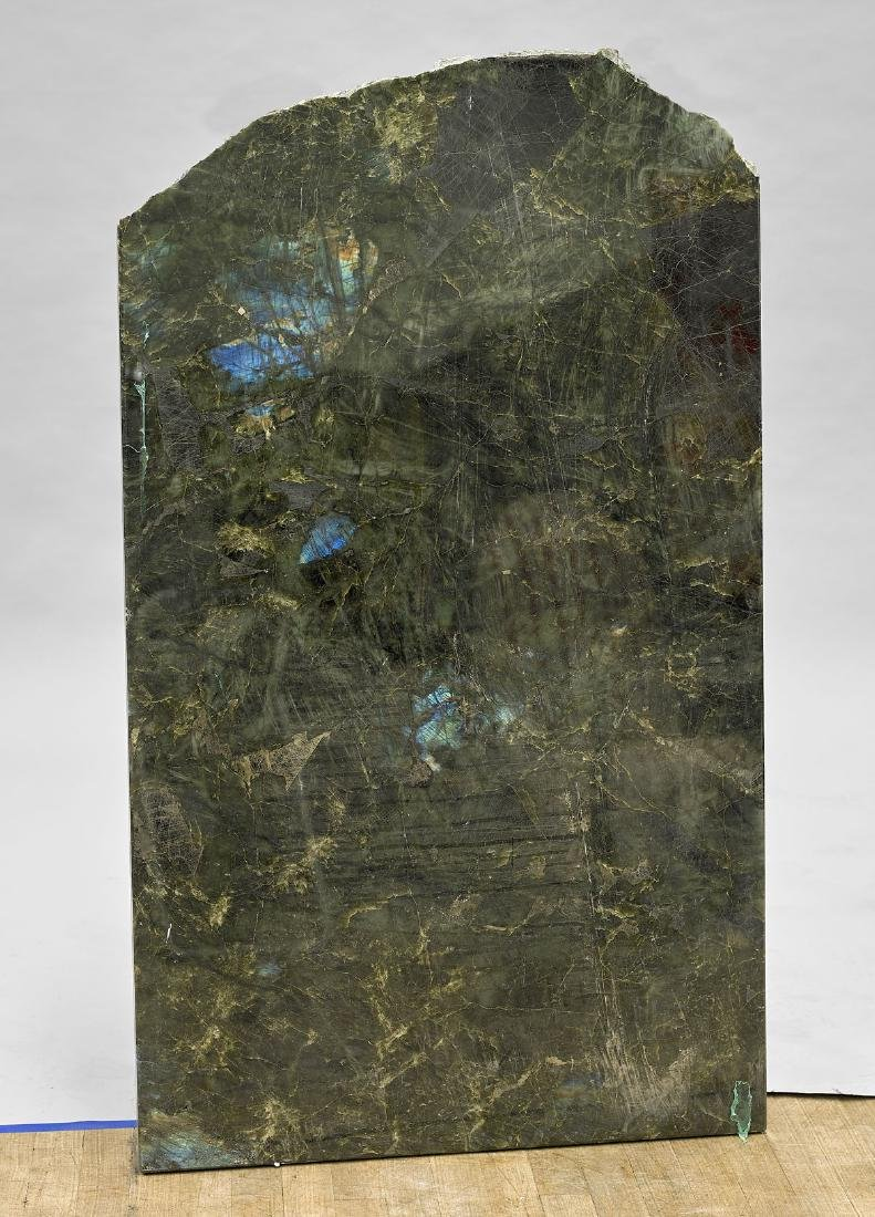 Large Polished Labradorite Slab