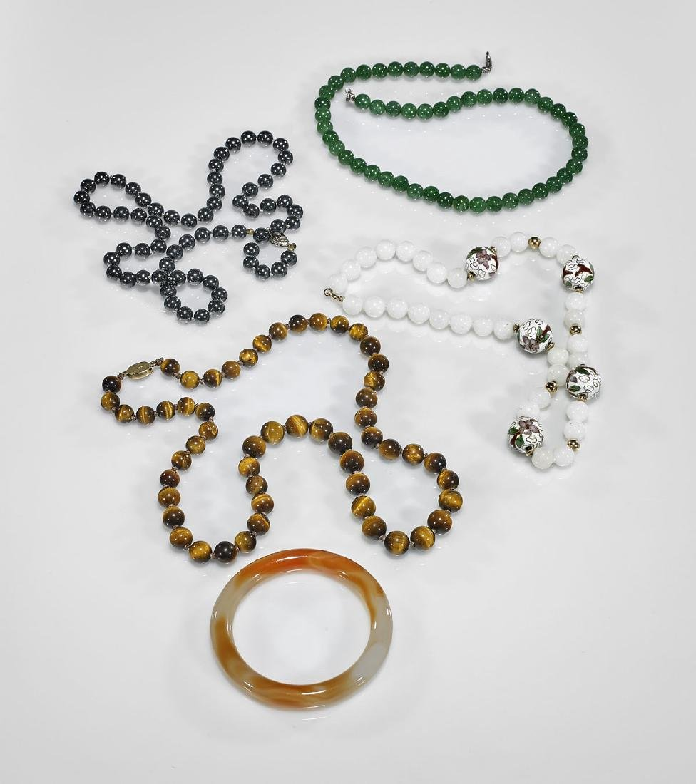 Five Various Chinese Jewelry Pieces