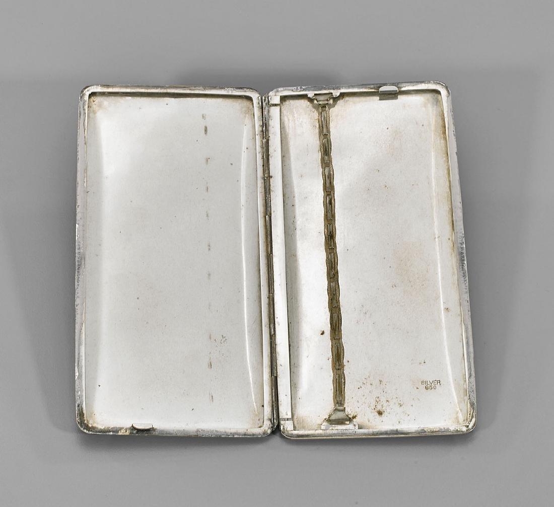 Antique Japanese Sterling Silver Cigarette Case - 2