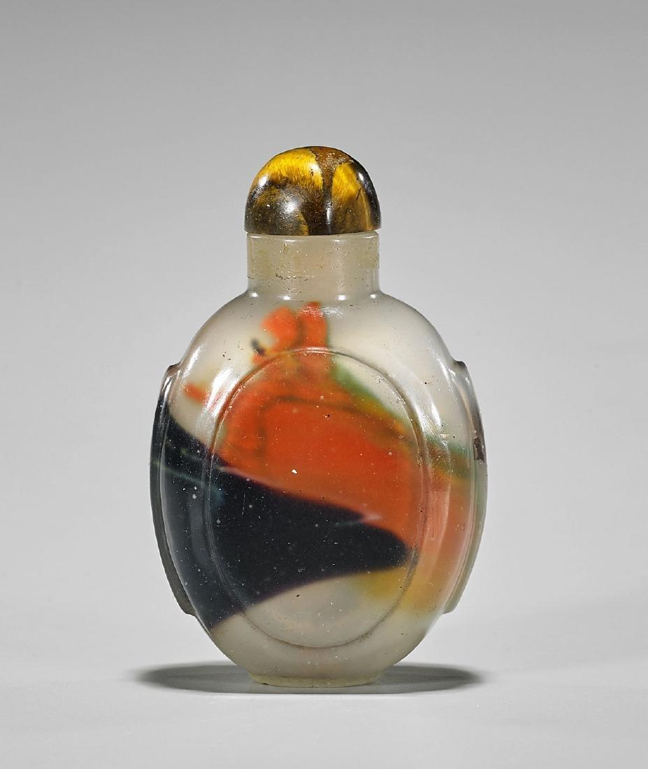 Antique Glass Snuff Bottle