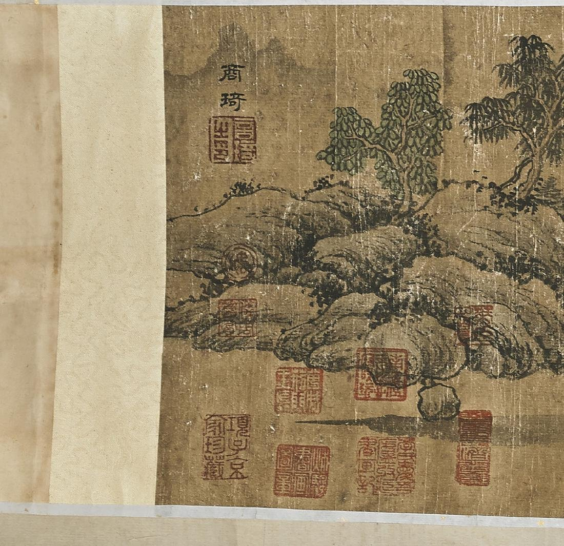 Two Chinese Handscrolls: Landscapes & Calligraphy - 4
