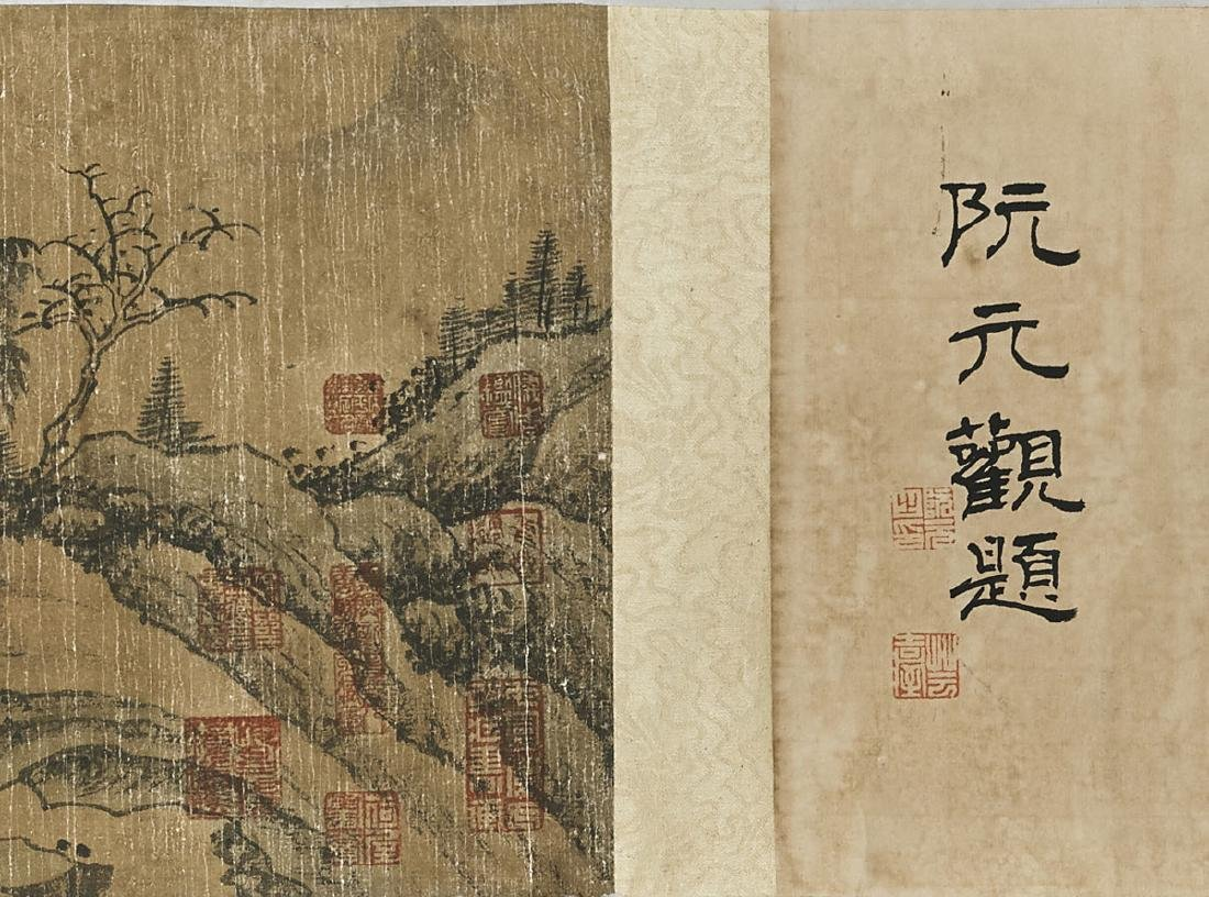Two Chinese Handscrolls: Landscapes & Calligraphy - 5
