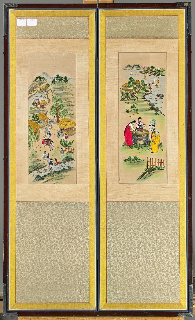 Four Chinese & Japanese Artworks