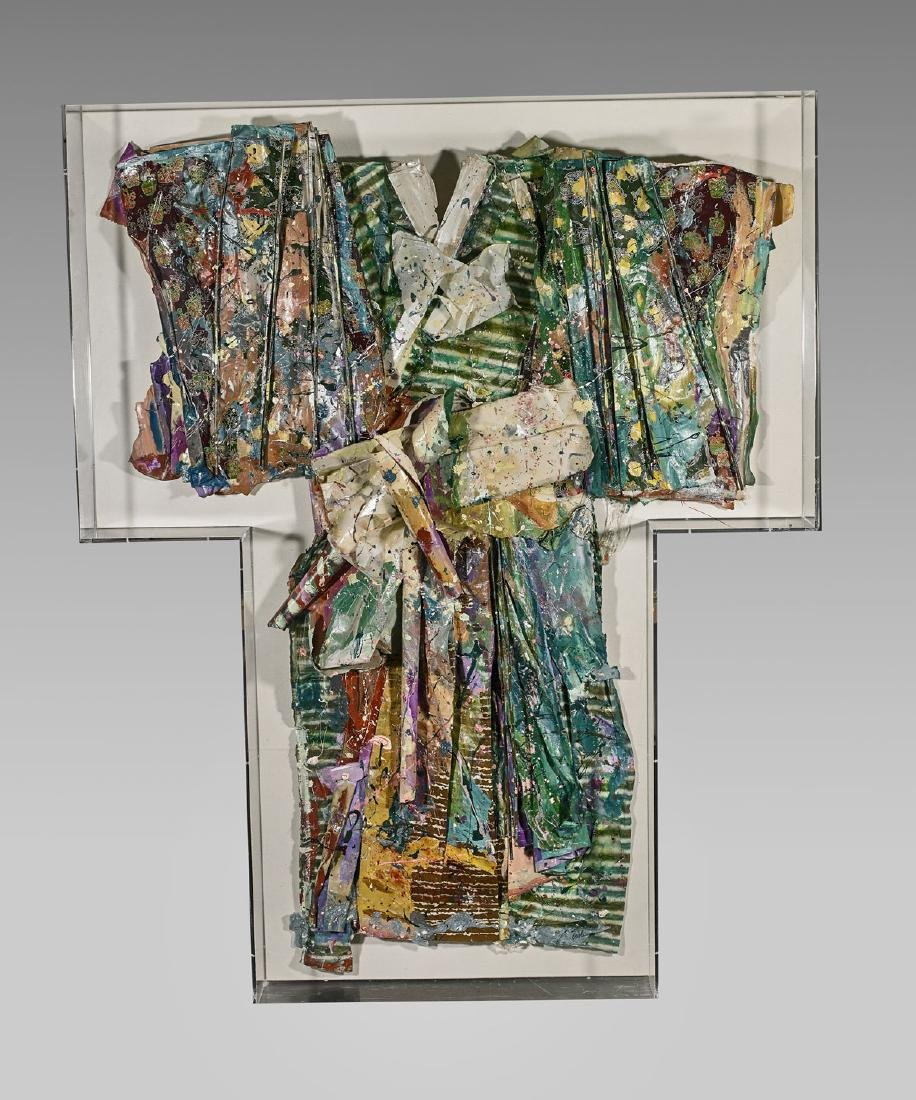 Large Mixed Media Kimono Sculpture