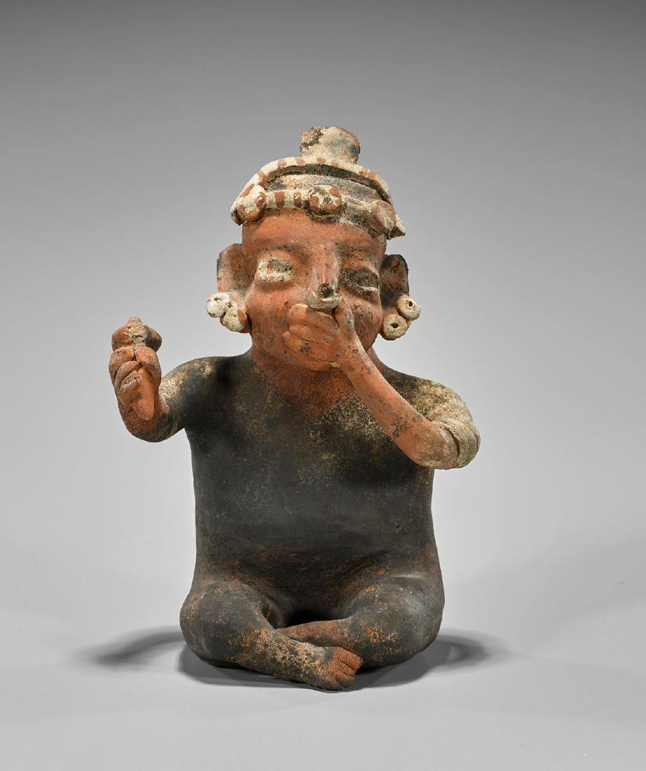 Pre-Columbian-Style Pottery Figure