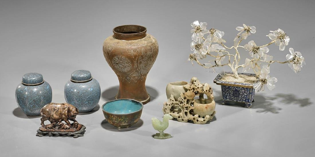 Group of Assorted Chinese Pieces
