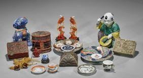 Collection of Various Chinese and Japanese Pieces