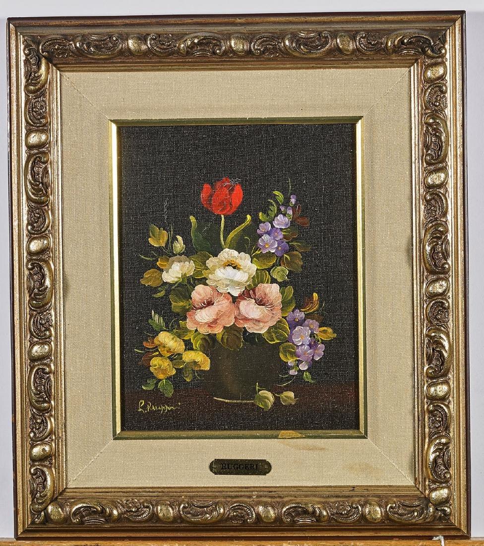 Group of Three Oil Paintings - 5
