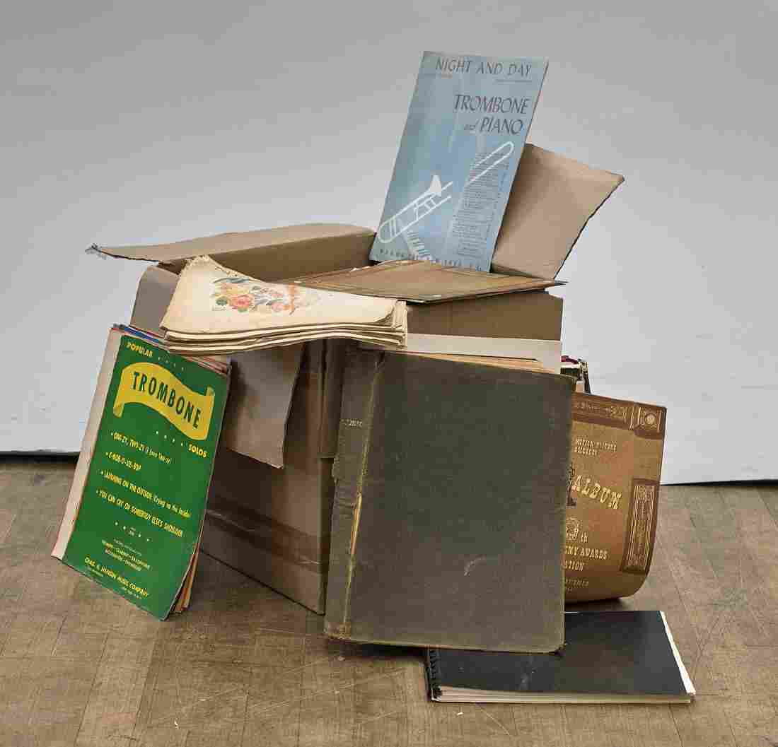 Large Collection of Records & Ephemera